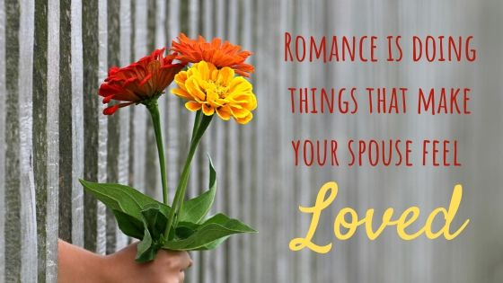Romance and love in marriage