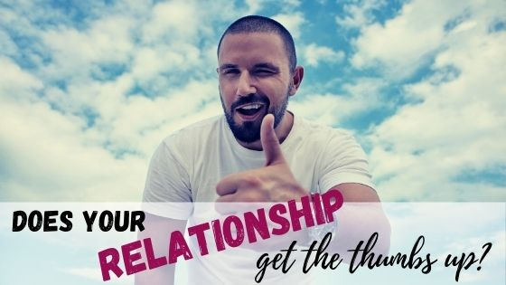 Does your relationship get the thumbs up?